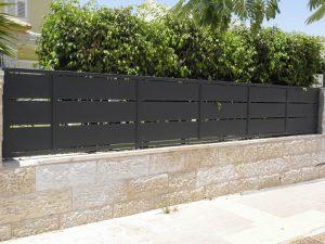 גדרות מאלומיניום דגם B101