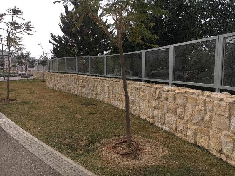גדר מאלומיניום דגם B125